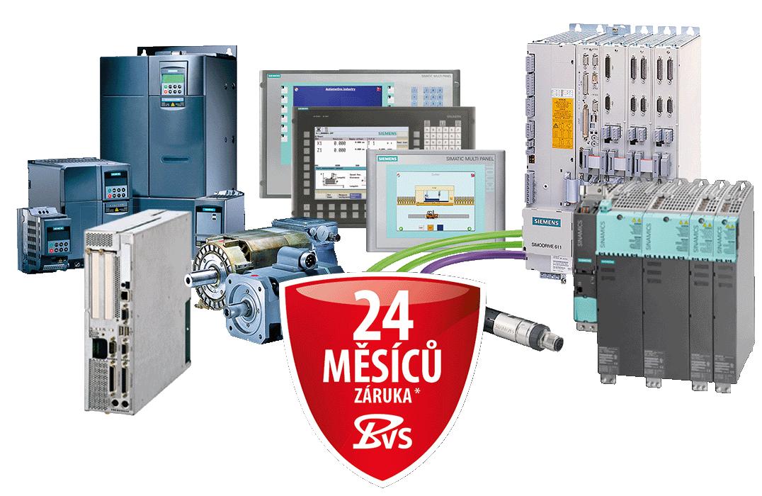 Siemens CNC – Oprava – Náhradní díly – Servis